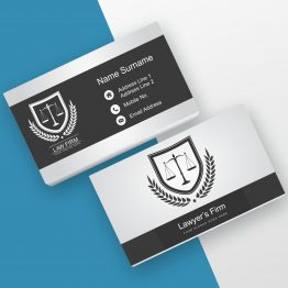 Advocate Business Cards